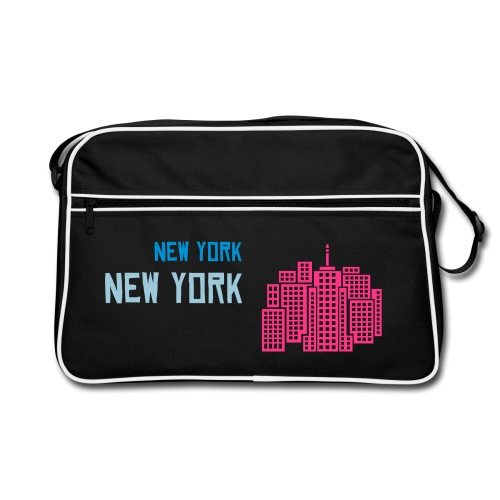 New york bag - Retrolaukku