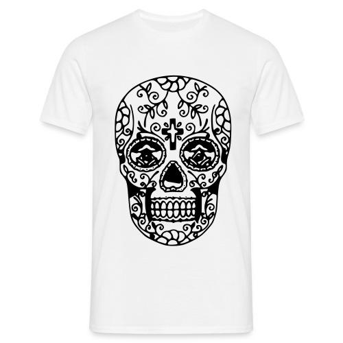 t shirt mexican skull - Maglietta da uomo