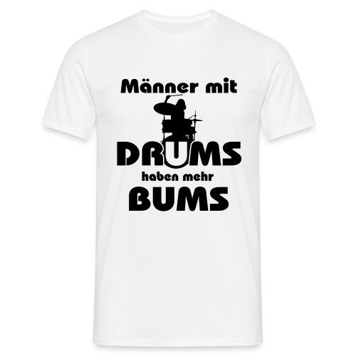 Drum Shirt - Männer T-Shirt