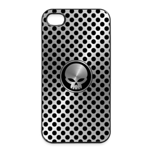 coque smartphone - skull metal - Coque rigide iPhone 4/4s