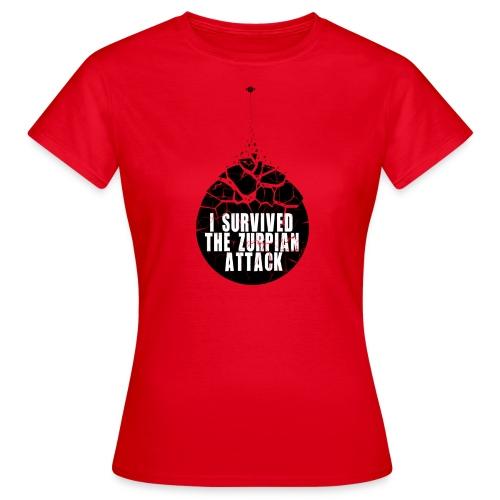 Zurpian Attack - T-shirt Femme