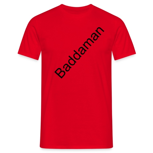 Red Baddaman Tee - Men's T-Shirt
