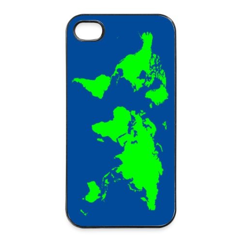 World map - coque smartphone - Coque rigide iPhone 4/4s