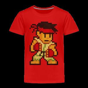 Pixelfighter Karateka - Kids' Premium T-Shirt