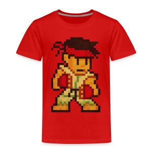 Pixelfighter Karateka - Kids' Premium T-Shirt
