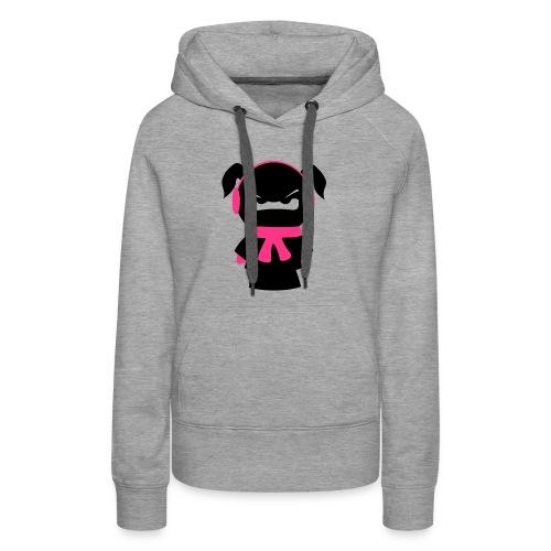 winterfestes Ninjamädel - Frauen Premium Hoodie
