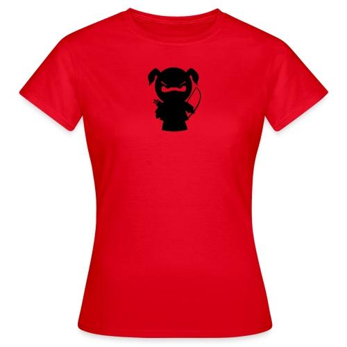 Ninjamädel mit Pfeil und Bogen - Frauen T-Shirt