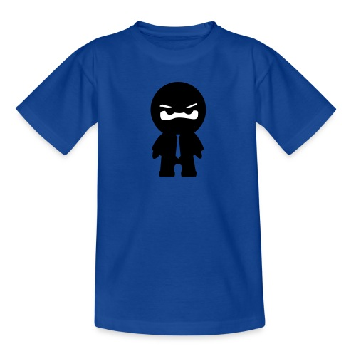 Ninja mit bunter Krawatte - Teenager T-Shirt