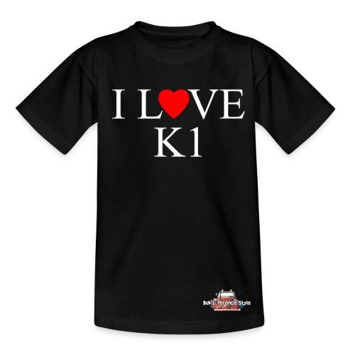 I love  K1 - Maglietta per bambini