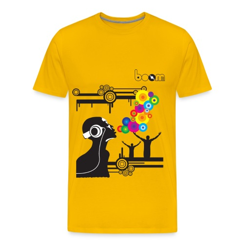 T-shirt Bubbles Music - Maglietta Premium da uomo