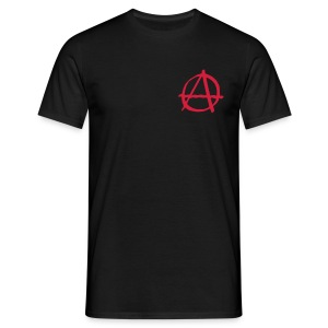 T-Shirt Anarchie Rouge RV - T-shirt Homme