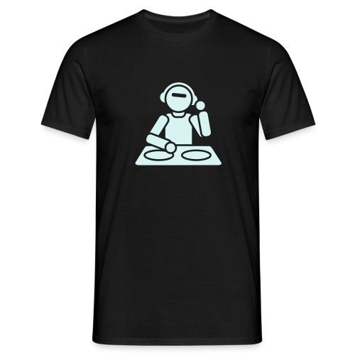 DJ - Reflektierend - Männer T-Shirt