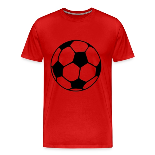 Red football shirt - Men's Premium T-Shirt