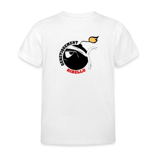 Génétiquement Ribellu ENFANT - T-shirt Enfant