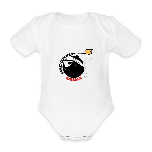 Génétiquement Ribellu ENFANT - Body bébé bio manches courtes