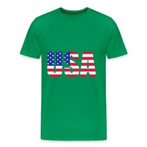 USA - Mannen Premium T-shirt