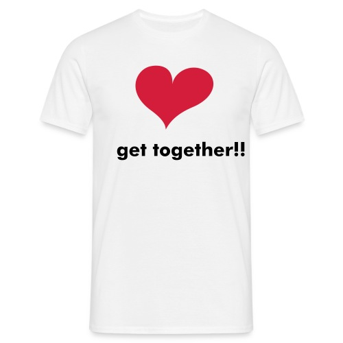 i love get together!! - Maglietta da uomo