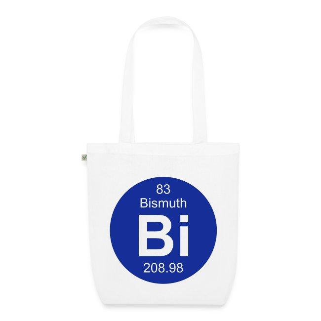 Periodic Table Words Bismuth Bi Element 83 Full Round Invert