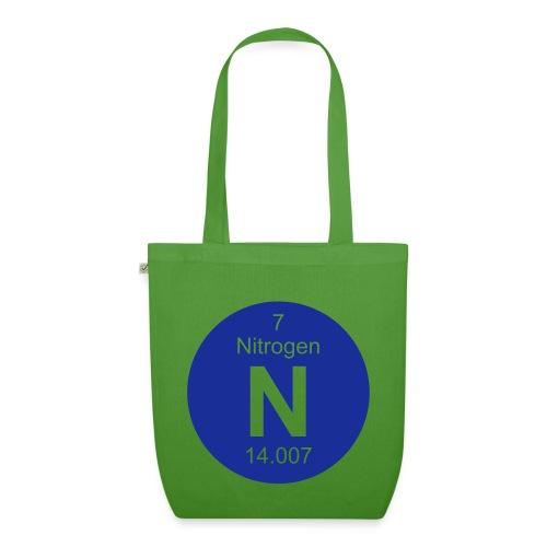 Nitrogen (N) (element 7) - Full round invert Bag - EarthPositive Tote Bag