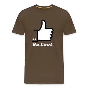 Be Cool thumbs up - Men's Premium T-Shirt