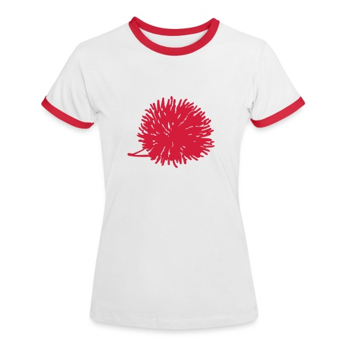 igel t-shirt woman - Frauen Kontrast-T-Shirt