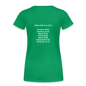 Frauen Girlieshirt, Tour - Frauen Premium T-Shirt