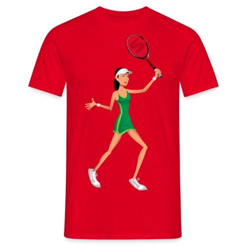 Stick Tennis - Tennis Girl 2 - Men's T-Shirt