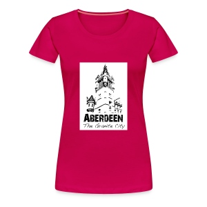 Aberdeen - the Granite City women's Classic T-shirt - Women's Premium T-Shirt