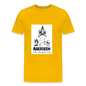 Aberdeen - the Granite City men's Classic T-shirt - Men's Premium T-Shirt