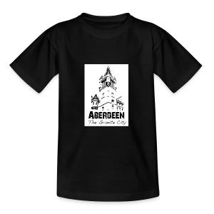Aberdeen - the Granite City kid's T-shirt - Kids' T-Shirt