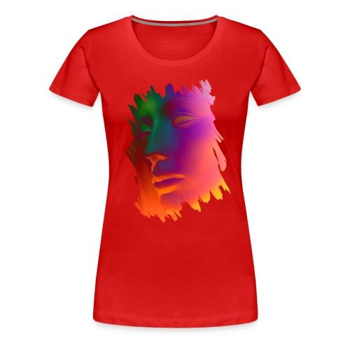 Face 1 - Frauen Premium T-Shirt
