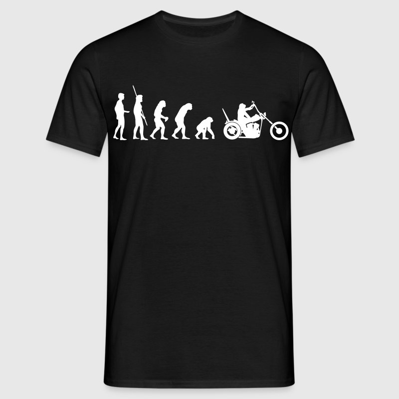 Chopper reverse evolution  T-Shirts - Men's T-Shirt