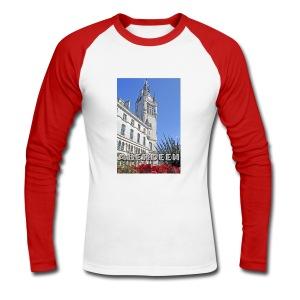 Aberdeen Town House men's long sleeve baseball T-shirt - Men's Long Sleeve Baseball T-Shirt