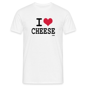 i love cheese - T-shirt Homme