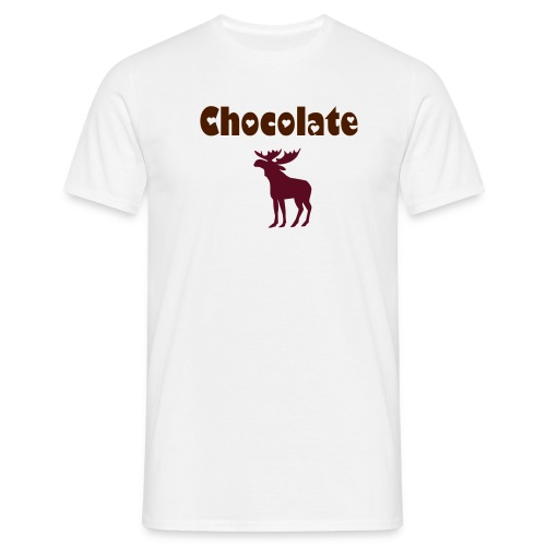 chocolate moose - Men's T-Shirt