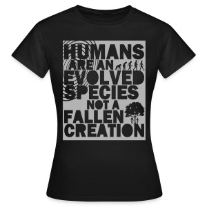 Humans Evolved - Women's T-Shirt