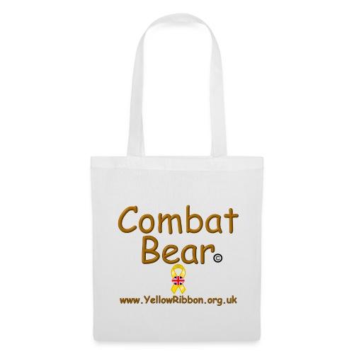 Combat Bear Tote Bag - Tote Bag
