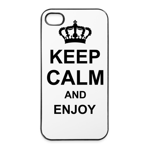Coque Keep Calm 4/4S - Coque rigide iPhone 4/4s