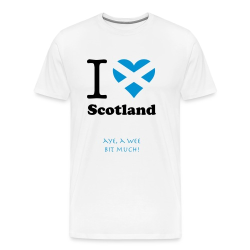 expatfood - Scotland Men's T-shirt - Men's Premium T-Shirt