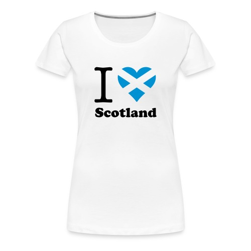 expatfood - Scotland Women's T-shirt - Women's Premium T-Shirt