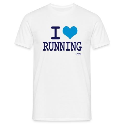 i love running - T-shirt Homme