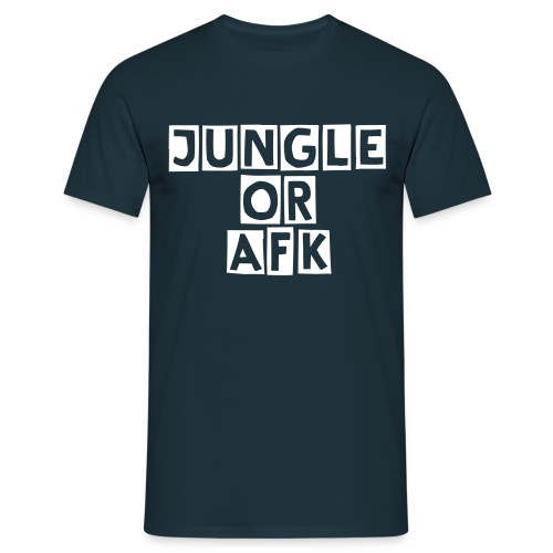 JUNGLE or AFK - Camiseta hombre