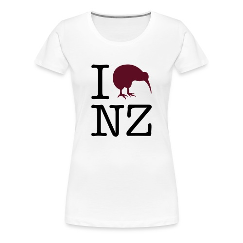 expatfood - New Zealand Women's T-shirt - Women's Premium T-Shirt