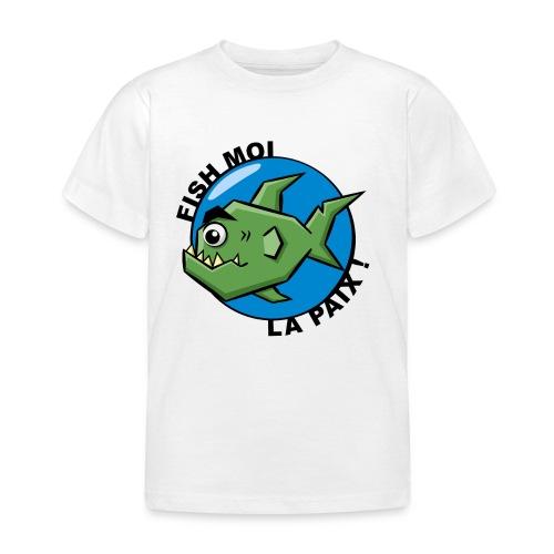 T-Shrit Enfant Poisson Ronchon - T-shirt Enfant