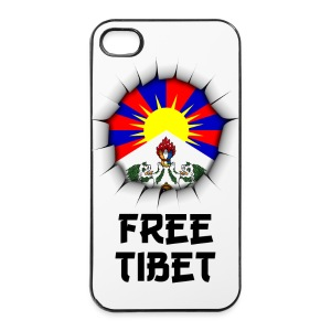 Free Tibet - coque smartphone - Coque rigide iPhone 4/4s