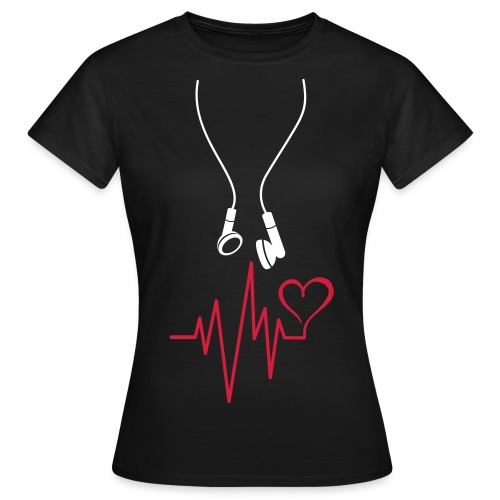 T-SHIRT femme music is life - T-shirt Femme