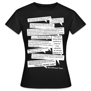 Neil deGrasse Tyson Quotes - Women's T-Shirt