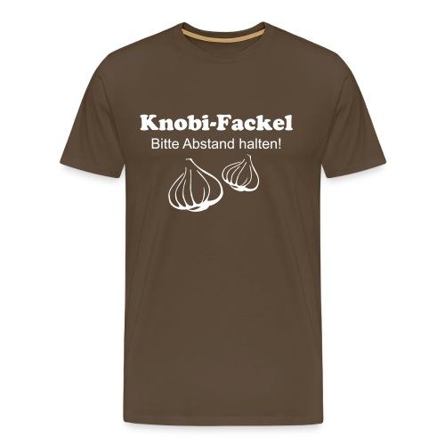 Knobi Fackel - Männer Premium T-Shirt
