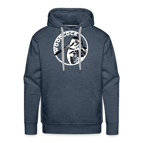 Sweat Chasse - Bécasse - Sweat-shirt à capuche Premium pour hommes