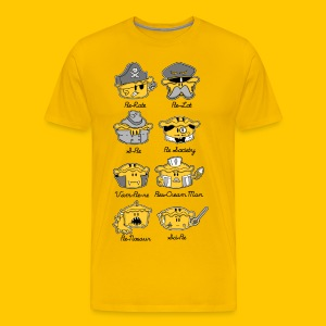 Life of Pie - Men's Premium T-Shirt